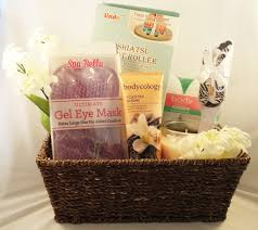 relaxation gift basket vanilla brown sugar spa relaxation gift basket bundle of