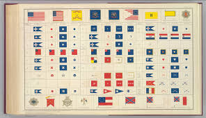 Civil War Union Flag Pictures Flags Badges Etc David Rumsey Historical Map Collection