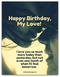 Happy Birthday Quotes Romantic Birthday Wishes Birthday Messages For Lovers