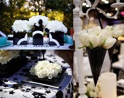 black and white wedding decorations stylish black and white decoration for wedding