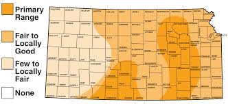 Map Of Counties In Kansas Bobwhite Quail Upland Birds Hunting Kdwpt Kdwpt