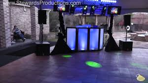 How To Throw A Backyard Party Fort Worth Dj Gig Log Sweet 16 Backyard Party Youtube