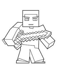 minecraft coloring pages chest foldable coloring