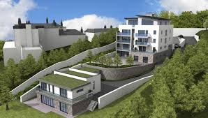 house builder planning consent granted for lodge house nirvana homes