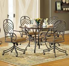nice silver dining room chairs on interior decor home ideas with