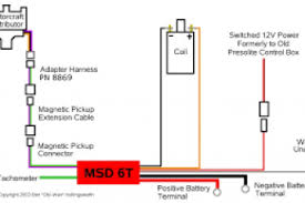 msd 6al wiring diagram gm hei wiring diagram