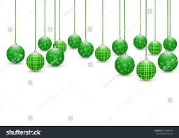 background green balls on white stock vector 730480018