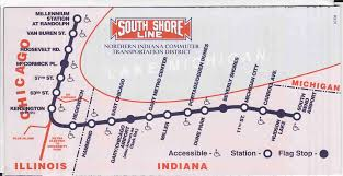Illinois Interstate Map by Metra