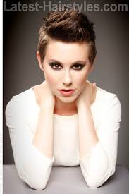 pixie haircut for strong faces short and spiky hairstyle for a round face short hair pixie