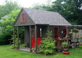 shed plans with porch nappanee home and garden club garden sheds porches backyard
