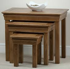 coffee table and stool set stool set set of three bed side one drawer wholesaler from jodhpur