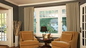 Big Window Curtains Curtains For Big Windows Ideas Curtain Rods And Window Curtains