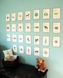 Best Alphabet Images On Pinterest Nursery Ideas Animal - Alphabet wall decals for kids rooms