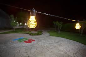 commercial grade outdoor led string lights 21 10 in line