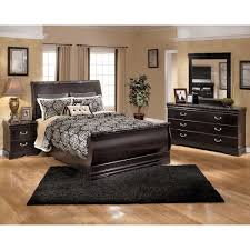king sleigh bed 5 pc bedroom package