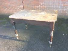 Victorian Pine Table EBay - Victorian pine kitchen table