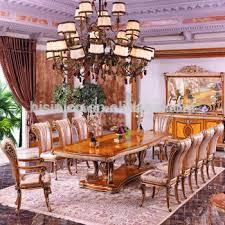 sala da pranzo in francese foglia oro in stile lusso francese sala da pranzo mobili stile