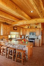 pure luxury kitchen designs part kitchen luxury log home large beamed ceiling over top stone and wood
