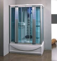 munderin 1350mm x 800mm steam shower bath enclosure cabin