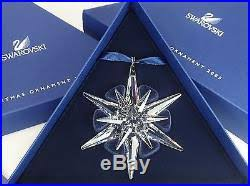 2005 swarovski annual ornament snowflake