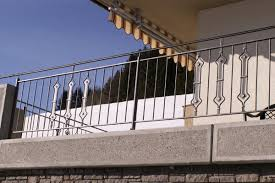 balkon edelstahlgel nder geländer aus schmiedeeisen