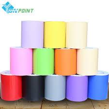 5 m pour kidroom vinyle stickers muraux solide couleur auto adhésif