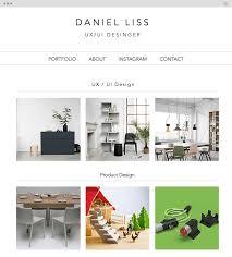 Portfolio Interior Design Amazing Portfolio Websites Created With Wix