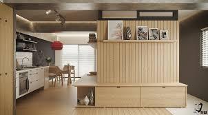 home designs built in studio apartment divider 5 small studio