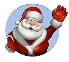 santa claus with cake clipart clipground