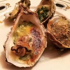 cuisiner les huitres huîtres chaudes ou huîtres gratinées cuisine de mémé