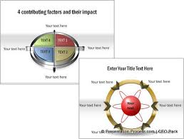 4 simple steps to create this powerpoint wheel diagram
