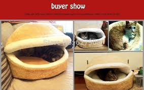 hamburger dog bed kennel cave pet bed hamburger warm cat bed house soft nest shell