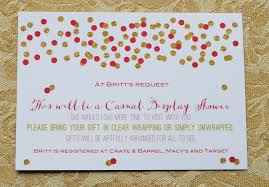 Gift Card Bridal Shower Bridal Shower Invitation For Gift Cards Wedding Invitation Sample