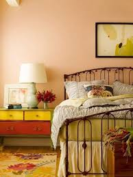 check out all of these peach paint color for bedroom for your