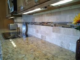 Stone Glass Tile Backsplash by American Tile U0026 Stone Completed Projects