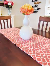 how to make table runner at home how to make a reversible table runner of decorating