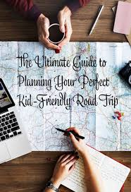Map Your Road Trip Travel Trip Map Direction Exploration Planning Concept