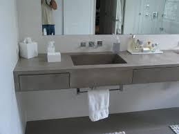 gfrc wall panels u0026 countertop concrete bathroom makeover