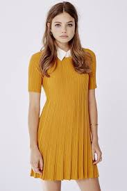 yellow sweater dress outfitters cooperative grace swingy sweater dress where to
