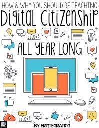 teaching digital citizenship all year in the classroom erintegration