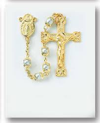 pearl rosary premium rosaries and high end rosary shop