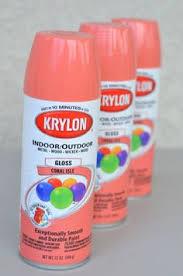 spray paint color choices valspar rustoleum and krylon diy