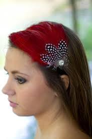 hair fascinators headband feather fascinator headband bridal hair