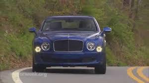 bentley mulsanne speed orange motorweek road test 2016 bentley mulsanne speed youtube