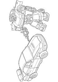 coloriage robot transformers 2 sur hugolescargot com