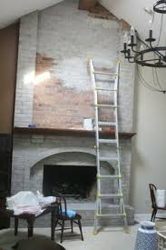 Remove Brick Fireplace by How To Whitewash Brick Keep This For A Later Reference Good