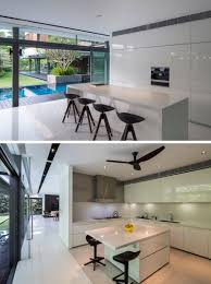 modern wet kitchen design the secret garden house by wallflower architecture design