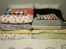 Folding Bed Sheets How To Fold Bedsheet Sets Into A