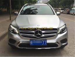 chrome benz 2018 best quality silver electric chrome vinyl foil car wrap film