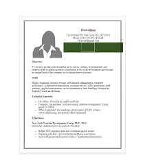 French Resume Examples by 20 Free Administrative Assistant Resume Samples Template Lab